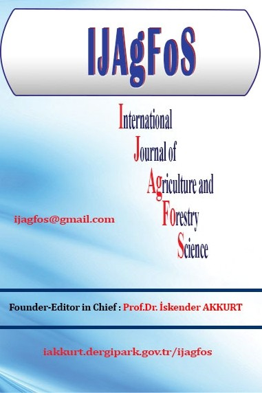 International Journal of Agriculture and Forestry Science (IJAGFOS)